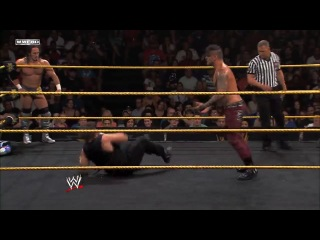 WWE NXT 14.08.2013 - Adrian Neville, Xavier Woods and Corey Graves vs. The Shield